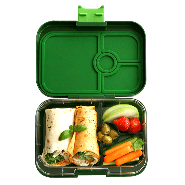 yumbox original lunch box bento terra green milk tooth. Black Bedroom Furniture Sets. Home Design Ideas