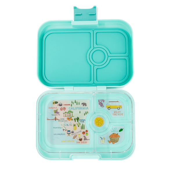 Yumbox | Panino Lunch Box | Bento Box | Surf Green