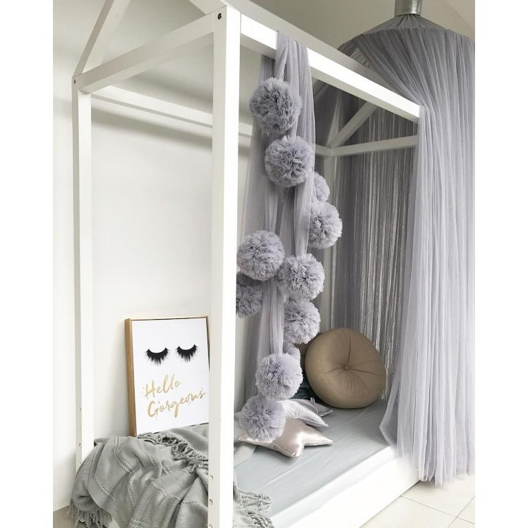 Spinkie Baby | Dreamy Canopy | Light Grey