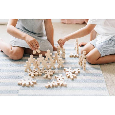 Flockmen | Wooden Building Set | Children Playing