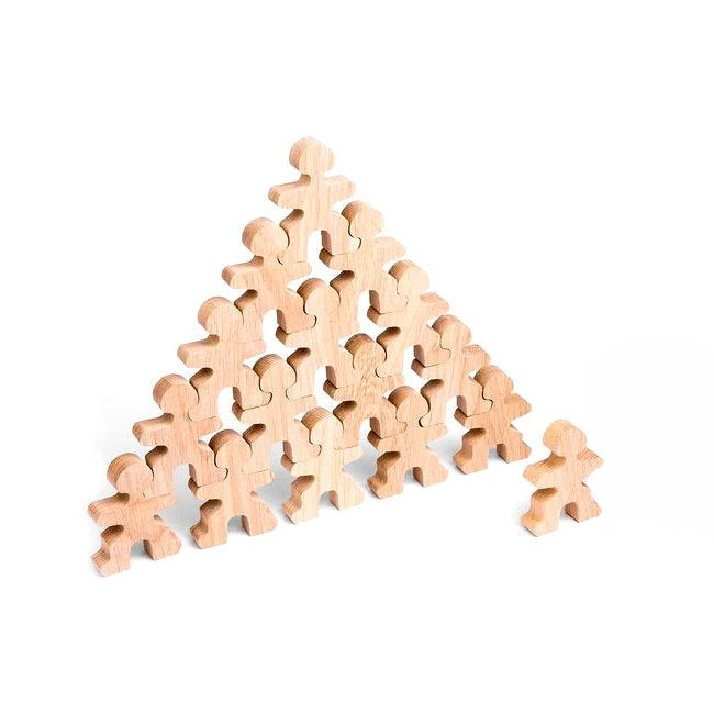 Flockmen | Wooden Building Set | Half Flock 16 Pieces