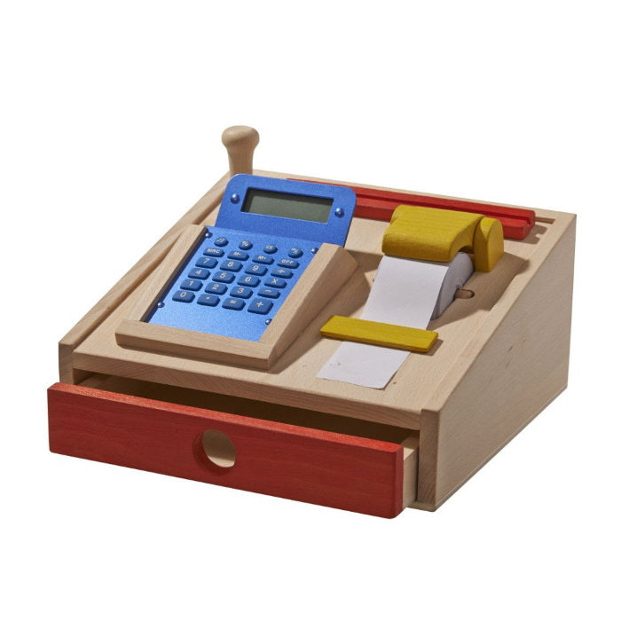 Gluckskafer | Wooden Cash Register