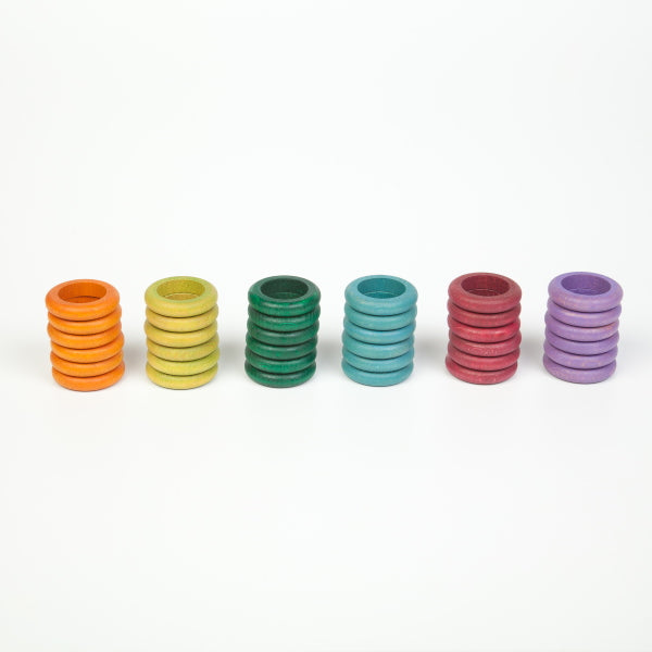 Grapat | 36 RIngs in 6 Warm Colours
