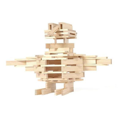 KAPLA | Wooden Building Planks | Example Sculpture Tower