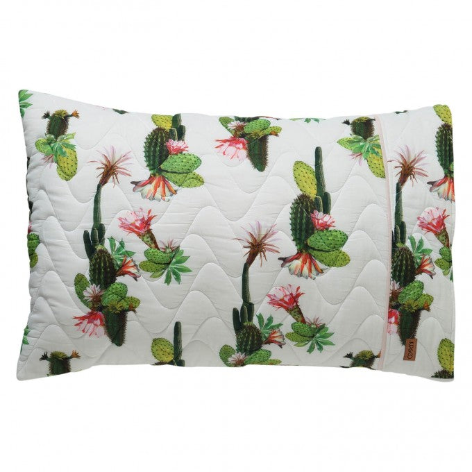 Kip and Co | Quilted Pillowcase | Cactus Cove
