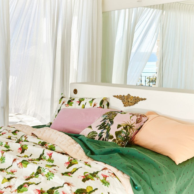 Kip and Co | Quilted Bedspread Comforter | Large | Cactus Cove