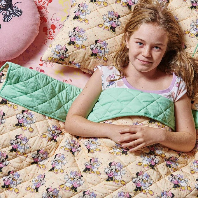 Kip and Co x Disney | Quilted Pillow Case | Girls Rule