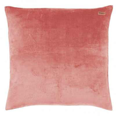 Kip and Co | Velvet Euro Cushion Cover | Smokey Pink