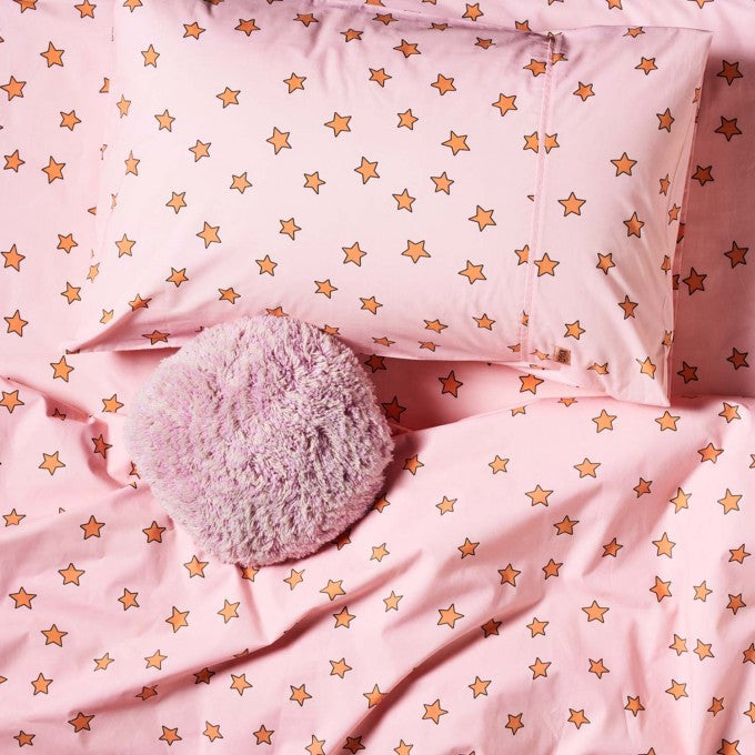 Kip and Co | Quilt Cover | King Single/Double | You're A Star Peach