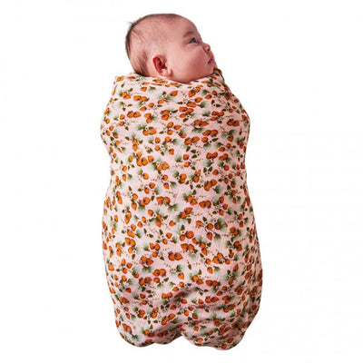 Kip and Co | Bamboo Baby Swaddle | The Patch Peach