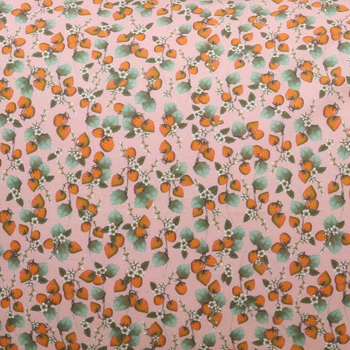 Kip and Co | Fitted Sheet | King Single | The Patch Peach
