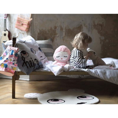 Kid's Room with Bunty Rug by Lucky Boy Sunday in wool & cotton