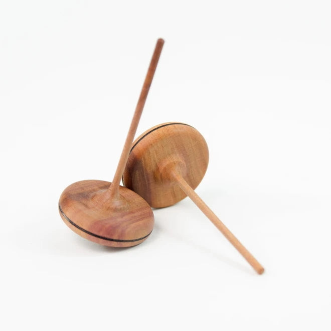 Mader | Spaghetti Spinning Top | Natural