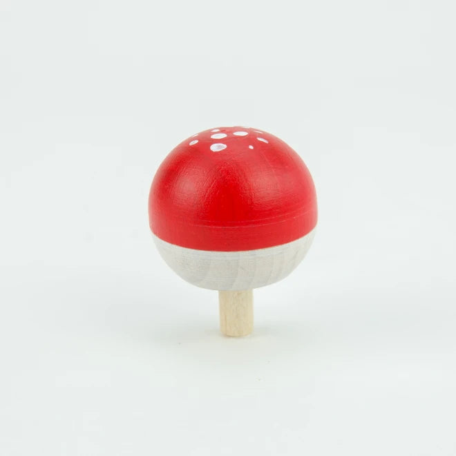 Mader | Tree Spinning Top & Fly Agaric Turn Top on Branch