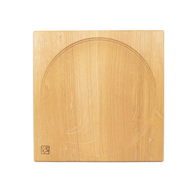 Mader | Wooden Plate for Spinning Tops | 11.5cm Oak