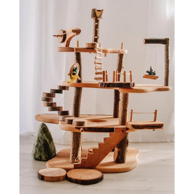 Magic Wood | Large Treehouse | Buildable Timber Doll House