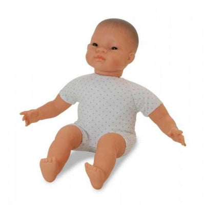 Asian Soft-Bodied Miniland Doll 40cm