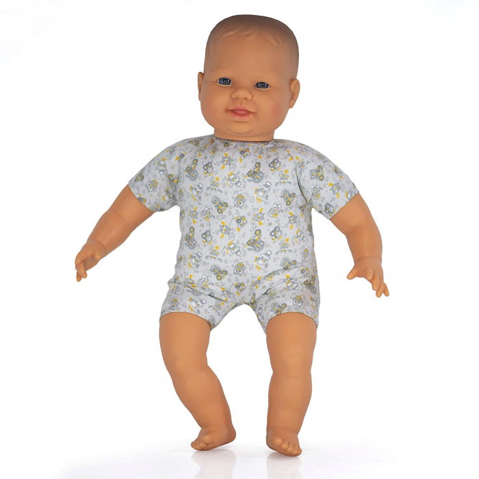 Miniland | Soft Bodied Baby Doll 40cm | Caucasian