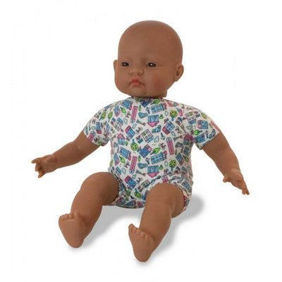 Miniland | Soft Bodied Baby Doll 40cm | Latin American