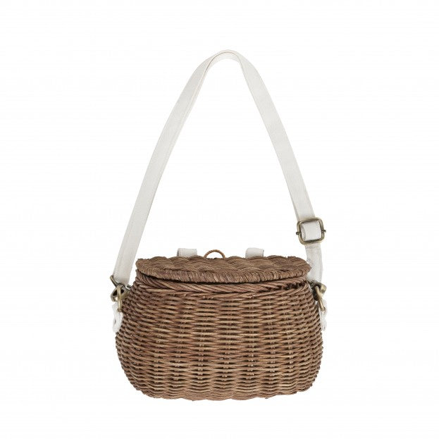 Olli Ella | Minichari Bag | Natural Rattan