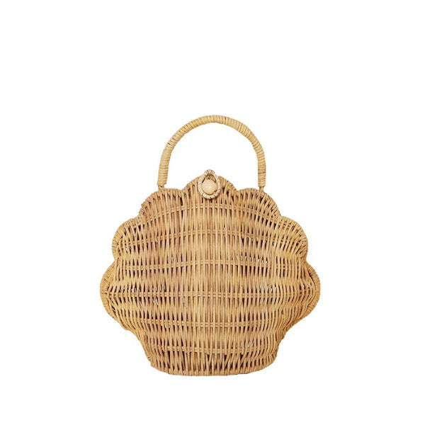 Olli Ella | Shell Bag | Straw | Rattan Purse