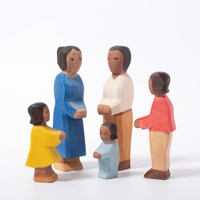 Ostheimer | Wooden Toy | People | Father II Dark Skin