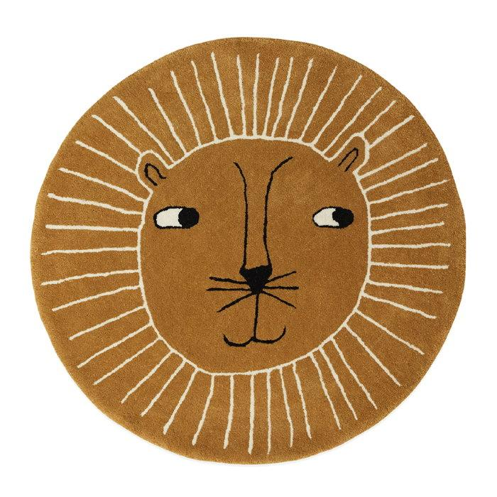 OYOY | Floor Rug | Lion | Kid's Rug Play Mat in Mustard