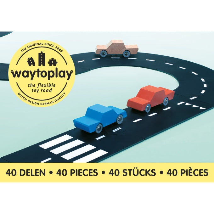 Waytoplay | King of the Road | 40 Pieces