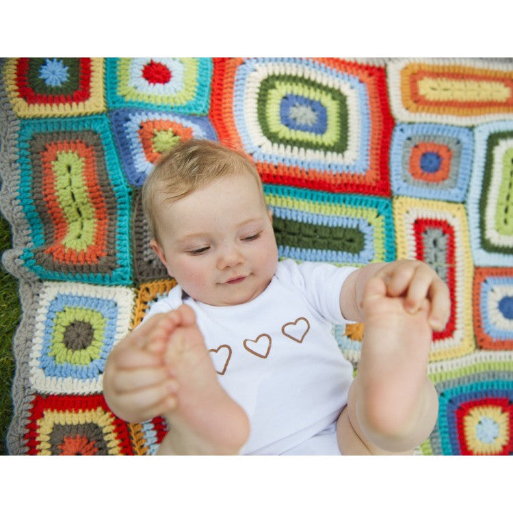 Weegoamigo | Wool Crochet Blanket | Rainbow Colours | Rupert