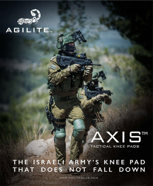 AGILITE AXIS KNEE PADS SELECTED AS NEW IDF STANDARD ISSUE KNEE PAD
