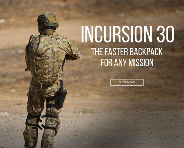 Incursion 30 Backpack Launch & Swag Giveaway!