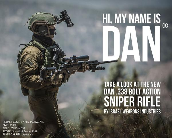 Down the Barrel-Introducing the new Dan .338 Sniper Rifle by IWI