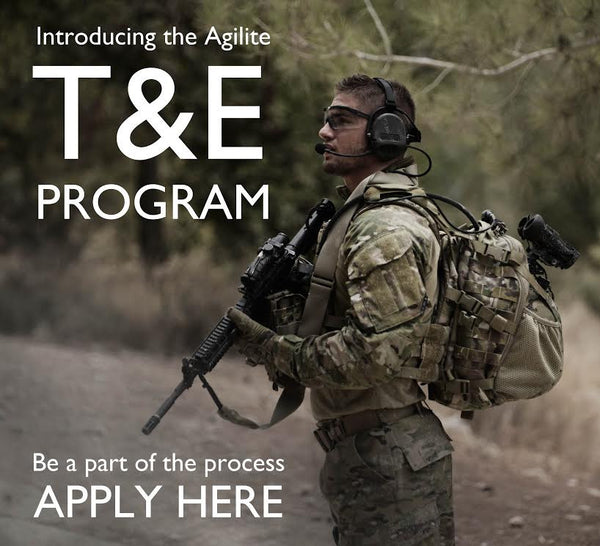 New: Apply for the Agilite T&E Program