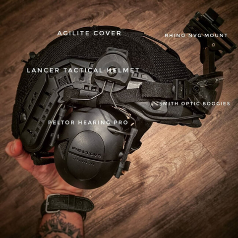 Lancer Tactical Helmet Cover