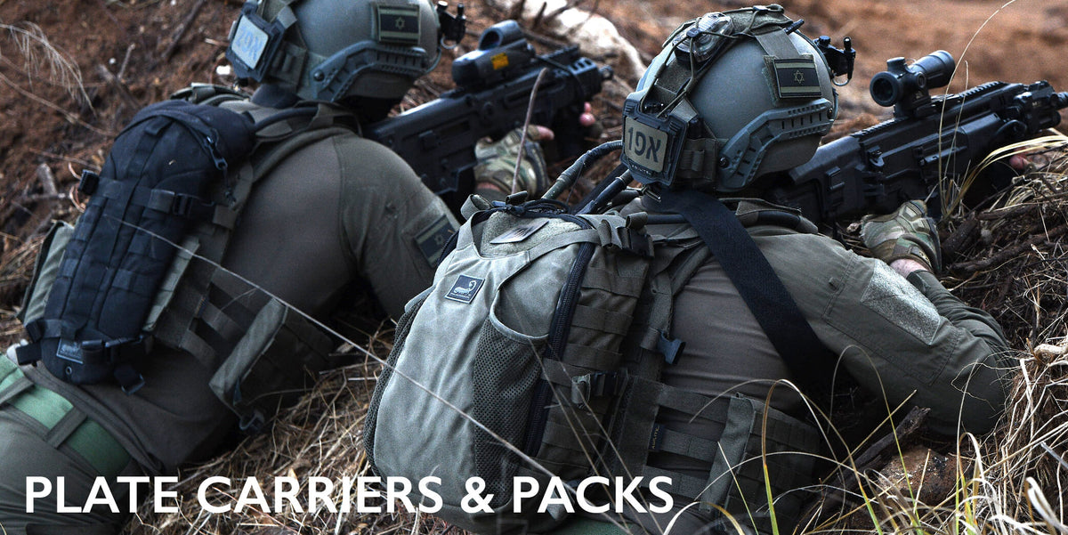 plate carriers and packs