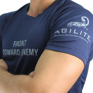 Front Toward Enemy T-Shirt, Small, Black - Agilite