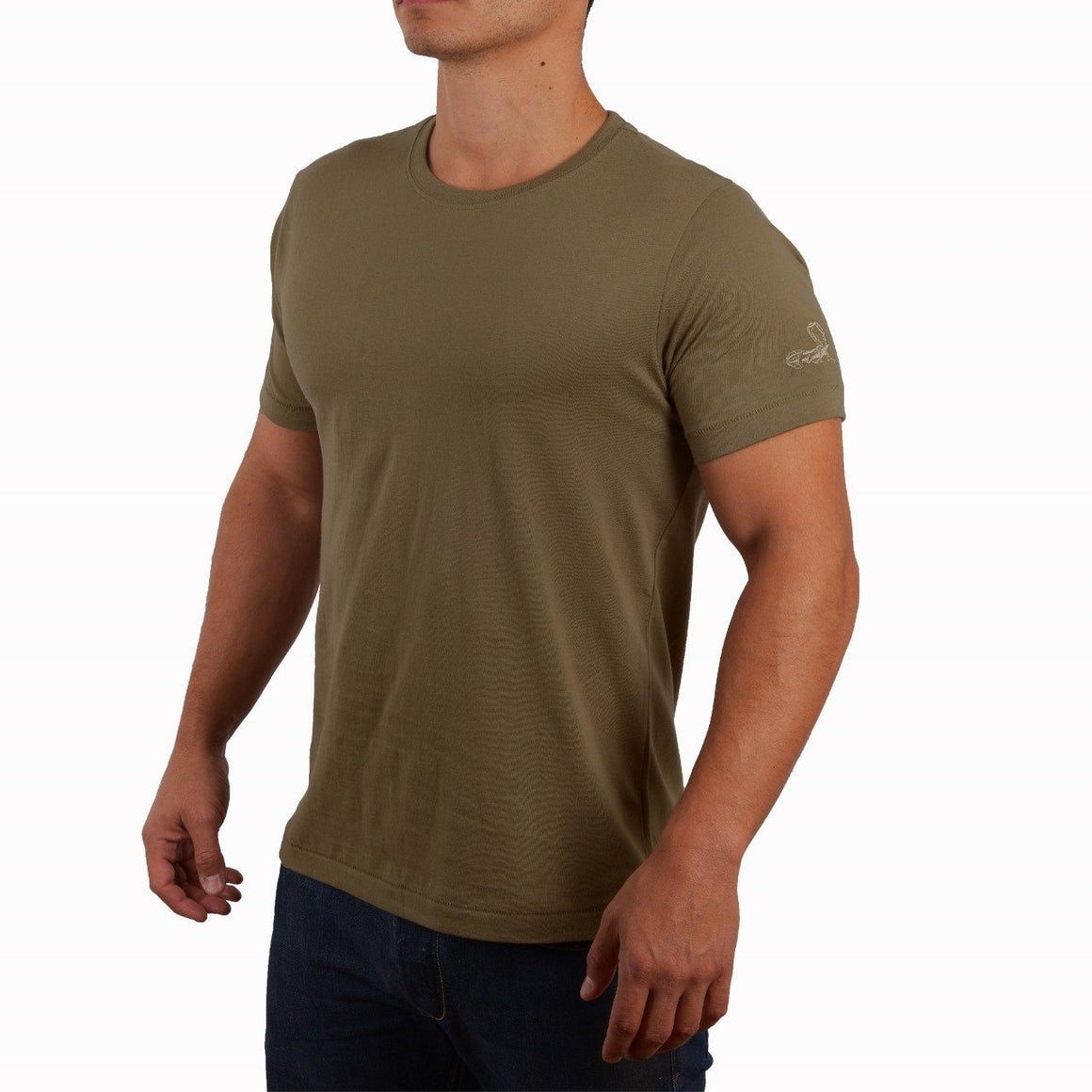 R&R Mens Crew, Medium, Coyote Tan - Agilite