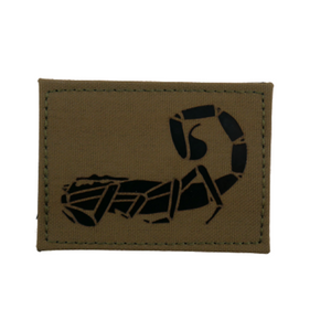 Agilite Scorpion IR Patch - Coyote Brown (5554650874014)