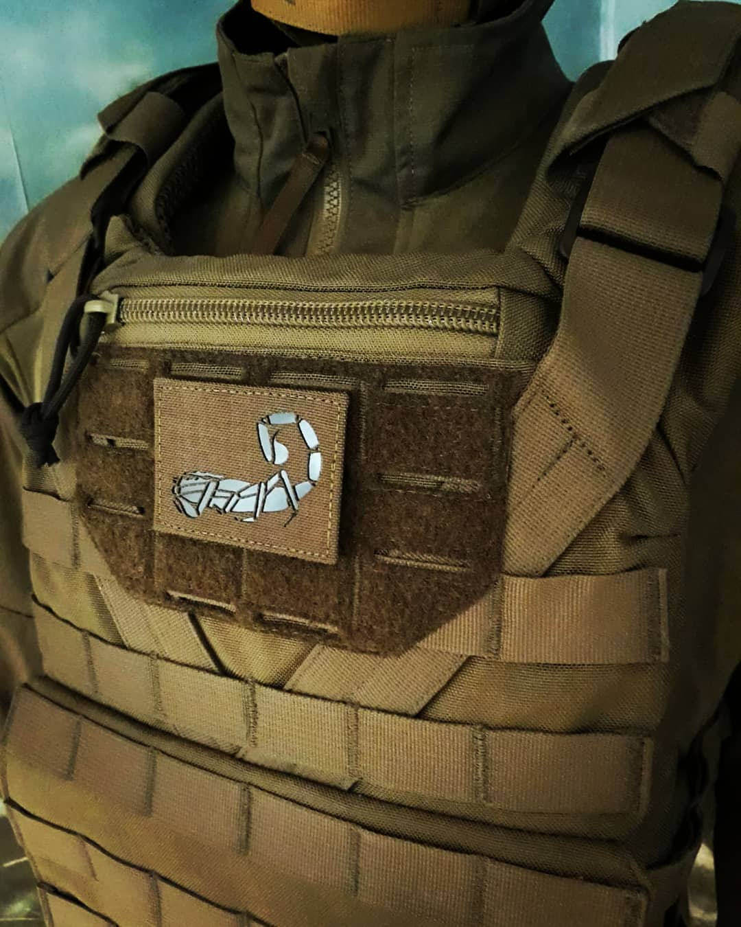 Agilite Scorpion IR Patch - Ranger Green (2110418288709)
