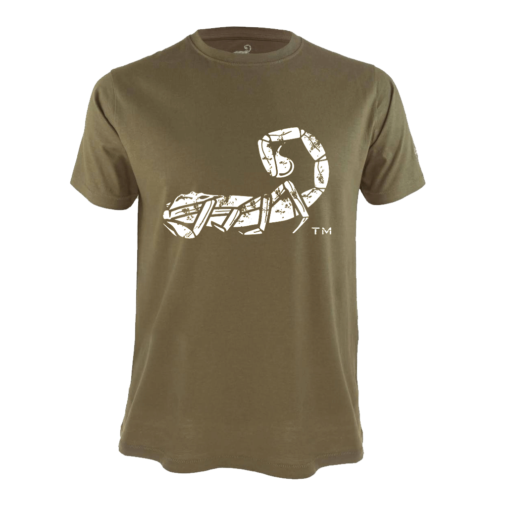 Disrupted Scorpion Logo T-Shirt