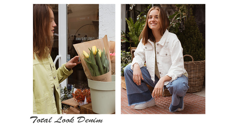 Chaquetas vaqueras total look denim