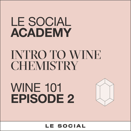 Intro to wine chemistry