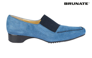 BR BAND BLUE SUEDE