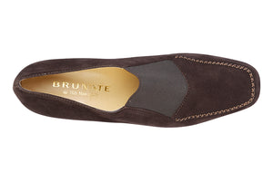 BR BAND BROWN SUEDE