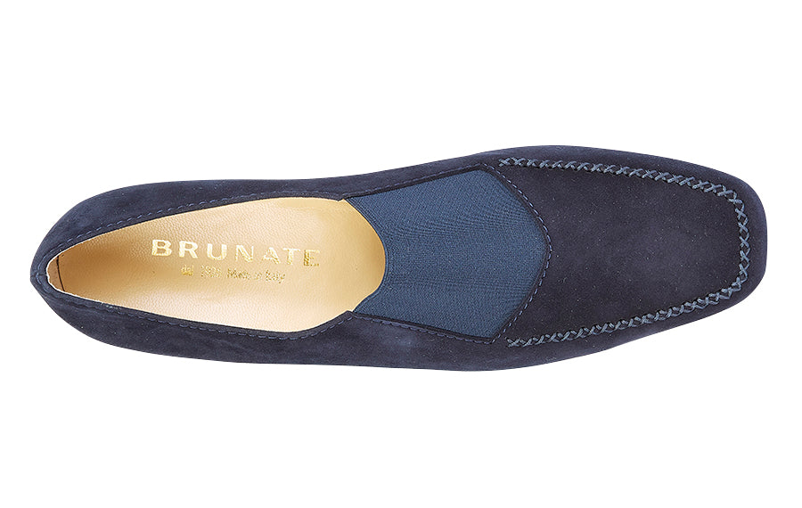 BR BAND NAVY SUEDE