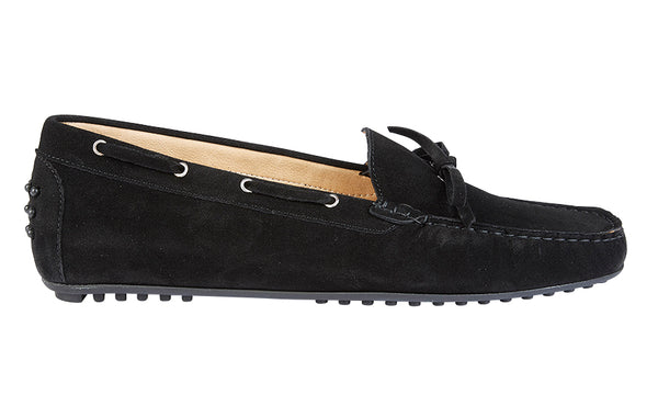 LIV GABBLE BLACK SUEDE