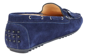 LIV GABBLE NAVY SUEDE