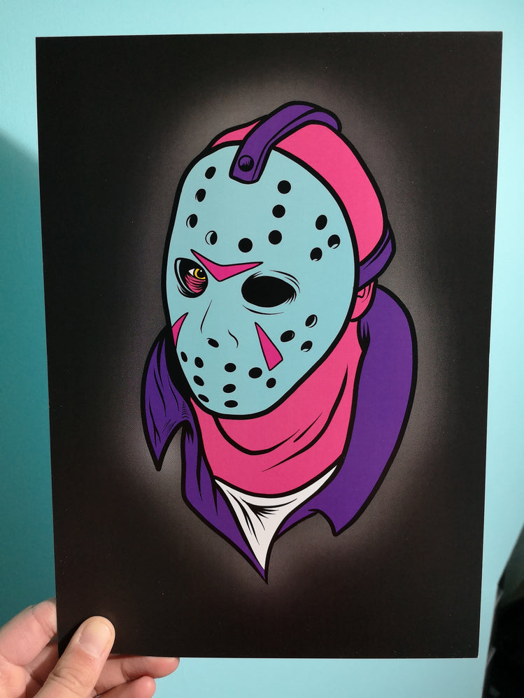 Crystal Lake Killer A4 art print