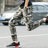 New Casual Camouflage Pants Men Joggers Pants male Hot Sale Quality Military Cargo Pants Cotton Trousers