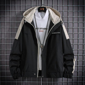 New Jackets Men Fashion Hip Hop Windbreaker Coats Casual Jacket Men Cargo Bomber Mens Jackets Coats Outwear Streetwear